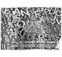 Alphabet Jumble  Poster