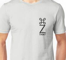 Command Z vertical Unisex T-Shirt