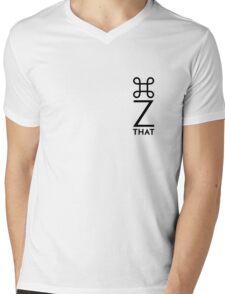 Command Z vertical Mens V-Neck T-Shirt