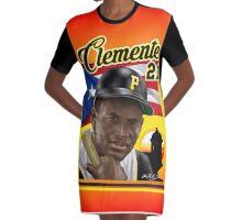 CLEMENTE 21 PR FLAG Graphic T-Shirt Dress