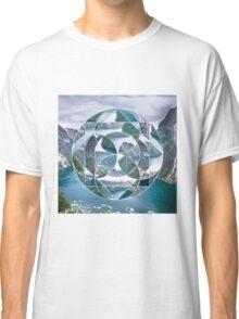Geometric landscape Classic T-Shirt