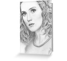 Orphan Black - Delphine Cormier Greeting Card