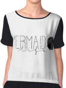 Mermaid Life Chiffon Top