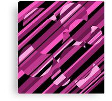 Magenta pattern Canvas Print
