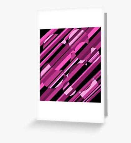 Magenta pattern Greeting Card