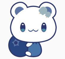 Buru Bluebeary One Piece - Short Sleeve