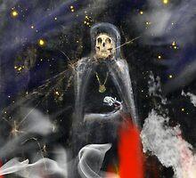 Devils Skull by WildestArt