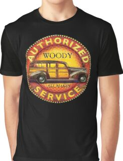 Woody wagon service - all makes serviced Graphic T-Shirt