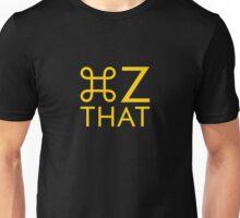 Command z yellow Unisex T-Shirt
