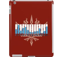 MH4 - Weapon Usage iPad Case/Skin