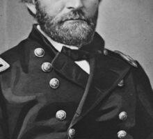 Portrait of Civil War General Ulysses S. Grant Sticker