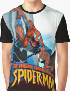 The Amazing Adventures of Spider-Man Graphic T-Shirt