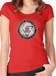 Dodge Brothers Vintage Detroit  USA Women's Fitted Scoop T-Shirt