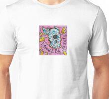 Freedom Skull Unisex T-Shirt