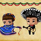 Mexican Chibis by artwaste