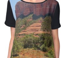 Sedona Majesty, Arizona Chiffon Top