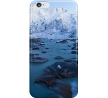 Mount Sefton & The Footstool Winter Dawn iPhone Case/Skin