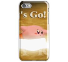 Smash 64 Kirby Congratulations Screen iPhone Case/Skin