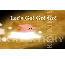 Smash 64 Kirby Congratulations Screen Photographic Print