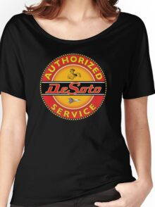 Desoto vintage Cars USA Women's Relaxed Fit T-Shirt