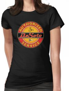 Desoto vintage Cars USA Womens Fitted T-Shirt