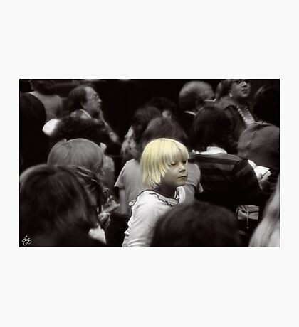 Fashionably Blond Photographic Print