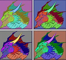 Dragon Tile by TratserEnoyreve