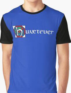 Hwætever! (Alternate Color) Graphic T-Shirt