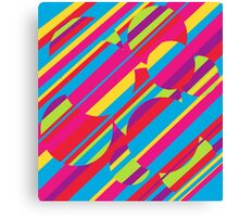 Colorful pattern Canvas Print