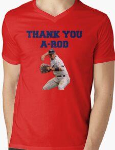 Thank You Alex Rodriguez #Yankees #NY #NewYork #Arod #13 #13Yankees Mens V-Neck T-Shirt