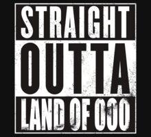 Straight Outta Land of Ooo Kids Tee