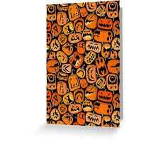 Pumpkin Brawl Greeting Card
