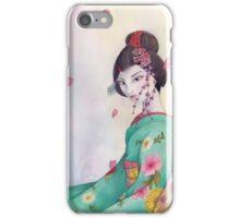 Maiko de primavera iPhone Case/Skin