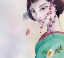 Maiko de primavera Sticker