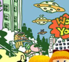 Smash 64 Ness Congratulations Screen Sticker