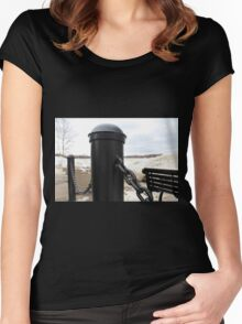 Links II Women's Fitted Scoop T-Shirt