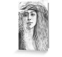 Orphan Black- Helena Greeting Card