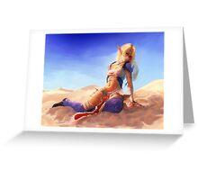 Bikini Sheik Greeting Card