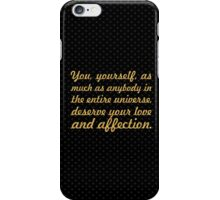 """You yourself... """"Buddha"""" Inspirational Quote iPhone Case/Skin"""