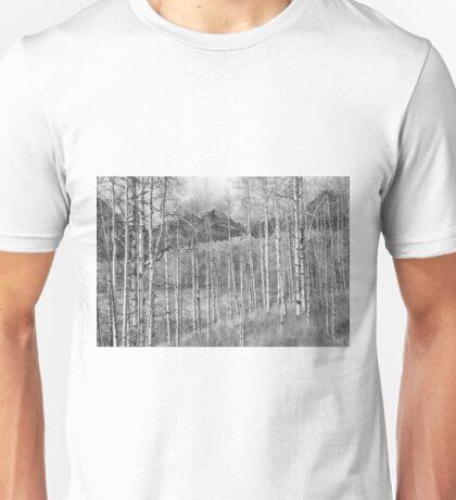 Aspen Ambience Monochrome Unisex T-Shirt