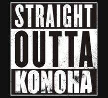 Straight Outta Konoha Kids Tee