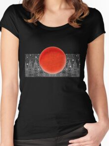 Bodacious Blood Moon Women's Fitted Scoop T-Shirt