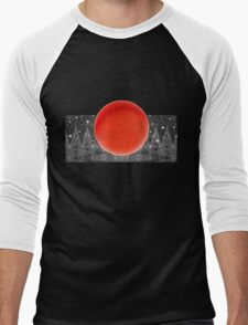 Bodacious Blood Moon Men's Baseball ¾ T-Shirt