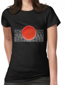 Bodacious Blood Moon Womens Fitted T-Shirt
