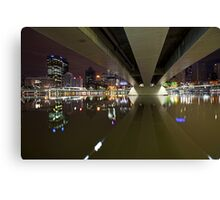 Underneath the arches... Canvas Print