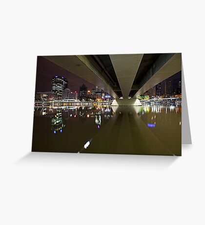 Underneath the arches... Greeting Card