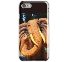An Elephant never forgets! iPhone Case/Skin