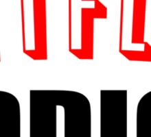 Netflix Addict Sticker