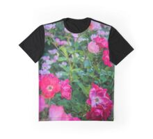 Roses Along The Rural Road | Westhampton, New York Graphic T-Shirt