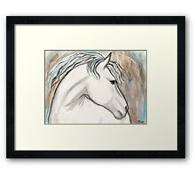Horse With No Name Framed Print